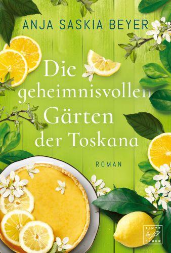 Bucheinband:Die geheimnisvollen Gärten der Toskana