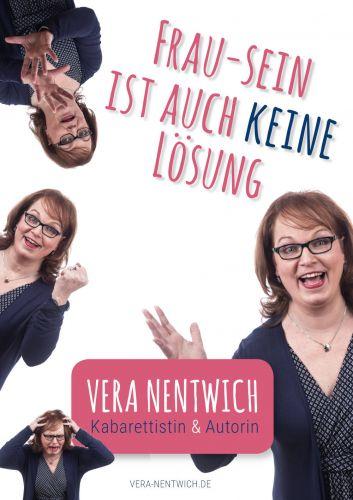 Bucheinband:Kabarettprogramm: Frau-sein ist auch keine Lösung