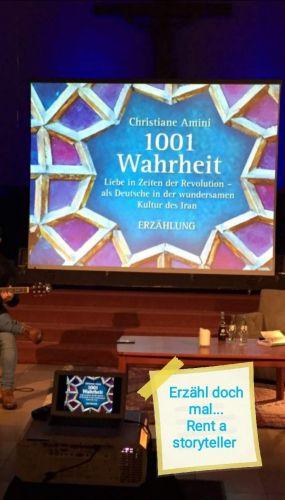 Bucheinband:Rent a storyteller - Erzähl doch mal...