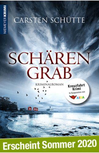 Bucheinband:Schärengrab * Profiler- und Kreuzfahrtkrimi