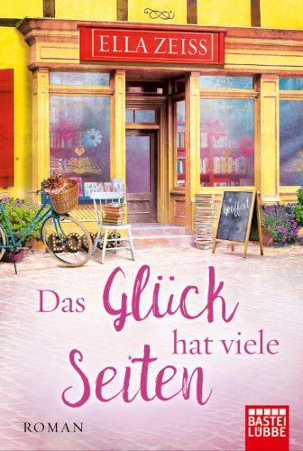 Bucheinband:Das Glück hat viele Seiten : Roman