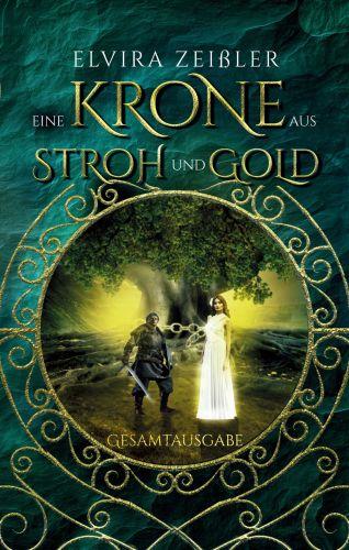 Bucheinband:Eine Krone aus Stroh und Gold